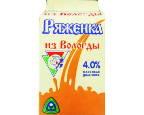 Ряженка из Вологды, 4%, 470 мл