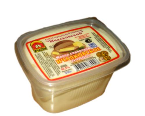 Масло сливочное натуральное 82,5% ТМ Ичалковское