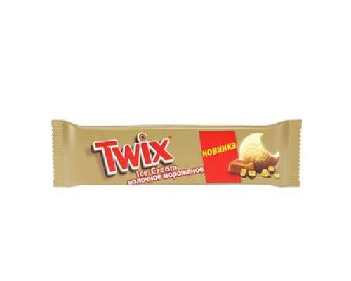 Мороженое молочное с печеньем и  карамелью ТМ Twix (Твикс) мульти-пак 6*43.1