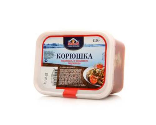 Корюшка жареная в томатном маринаде ТМ Лисий Нос