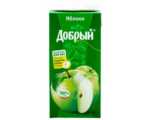 Сок Добрый яблоко осветленный 2л т/п