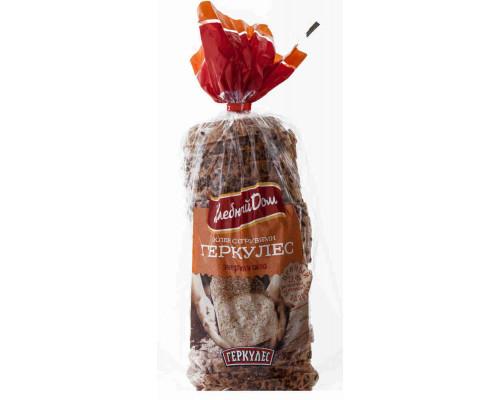 Хлеб Хлебный дом Геркулес с отрубями в нарезке 500г