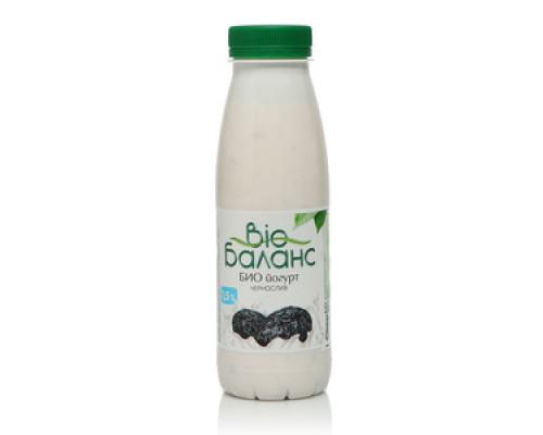 Йогурт (БиоЙогурт) чернослив 1,5% ТМ Bio (Био) Баланс