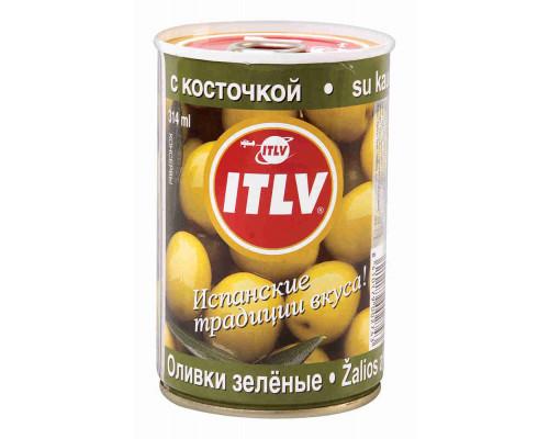 Оливки зеленые Itlv с/к 300г ж/б
