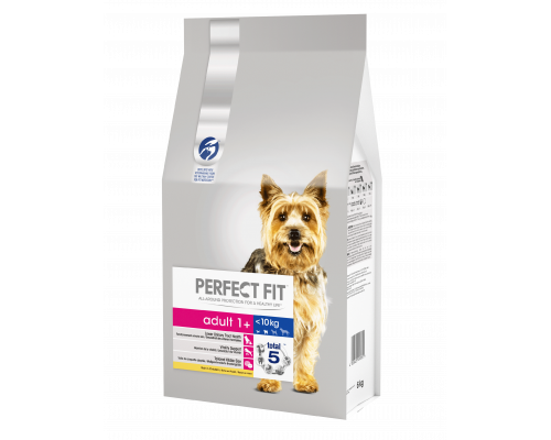 Корм сухой Perfect Fit, для взрослых собак от 1 года мелких и миниатюрных пород, с курицей, 6 кг