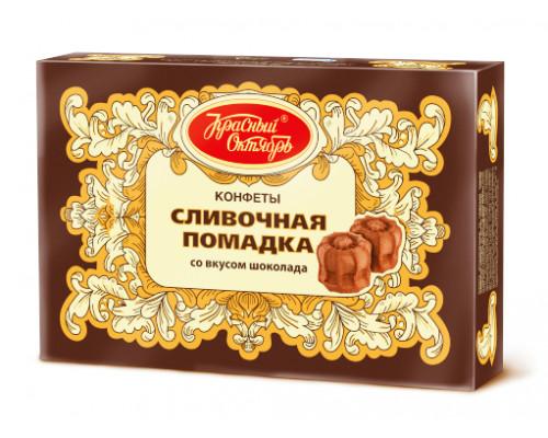Помадка сливочная ТМ Красный октябрь со вкусом шоколада, 250 г
