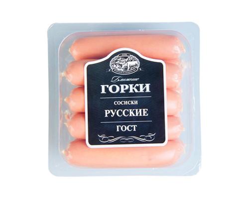 Сосиски ТМ Ближние горки Русские, 450 г