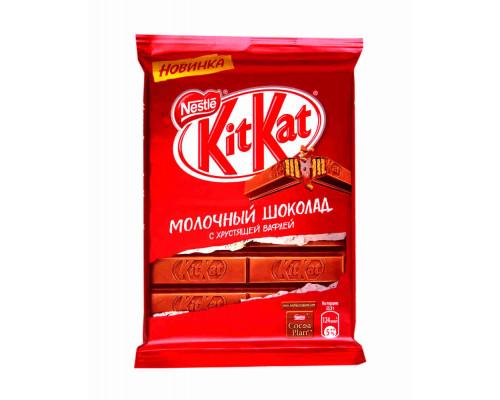 Шоколад ТМ KitKat, молочный с хрустящей вафлей 94 г