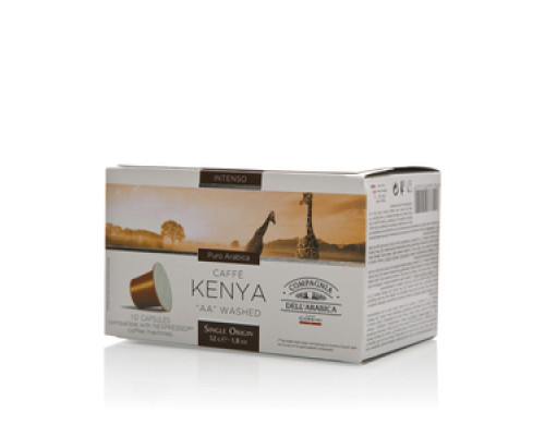 Кофе в капсулах Compagnia Dell`arabica Kenya AA Washed 10шт