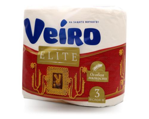 Бумага туалетная 4рул ТМ Veiro (Виро)