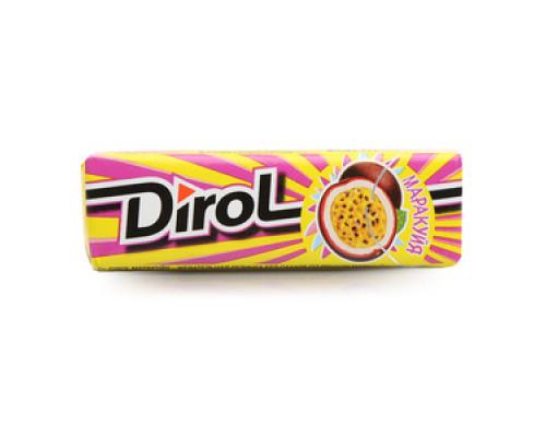 Жевательная резинка без сахара Маракуйя ТМ Dirol (Дирол)