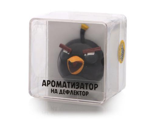 Ароматизатор на дефлектор Черный бриллиант ТМ Angry Birds (Энгри Бердс)