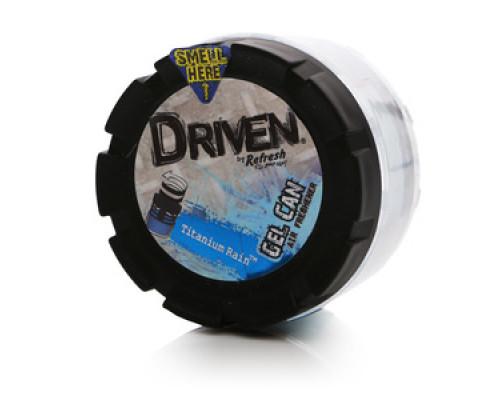 Ароматизатор воздуха для а/м гелевый Titanium Rain ТМ Driven (Драйвен)