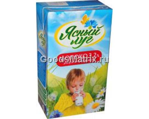 Молоко ТМ Ясный луг, ультрапастеризованное, 3,2% 1 л