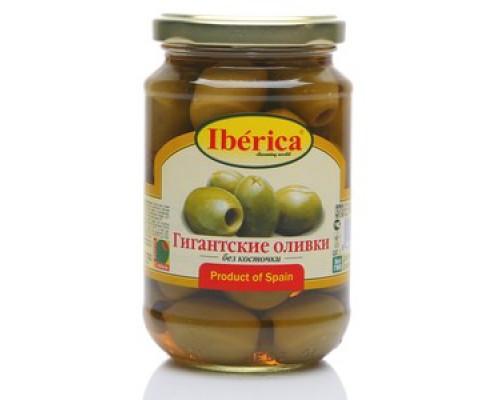 Гигантские оливки без косточки ТМ Iberica (Иберика)