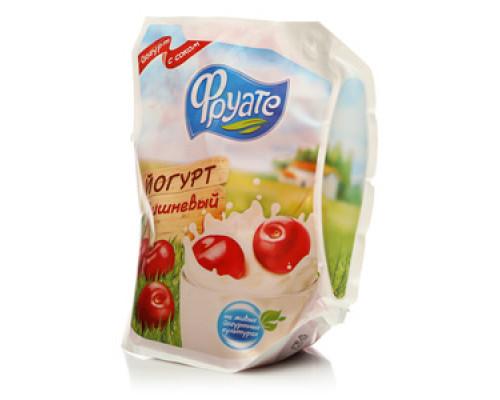 Йогурт ТМ Фруате, вишневый 1,5%, 450 г.