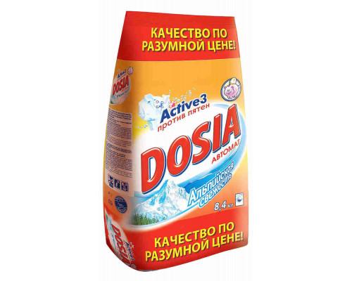 Стиральный порошок Dosia Альпийская свежесть 8,4кг