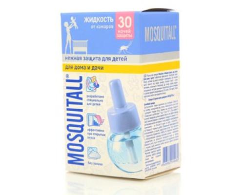 Жидкость от комаров ТМ Mosquitall (Москитол), нежная защита для детей, 30 ночей защиты