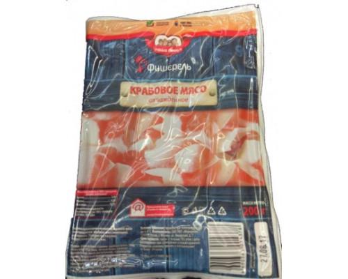 Крабовое мясо Фиширель, охлаждённое, 200 г