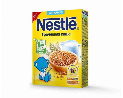 Каша молочная Nestle Гречневая с 5 мес 250г