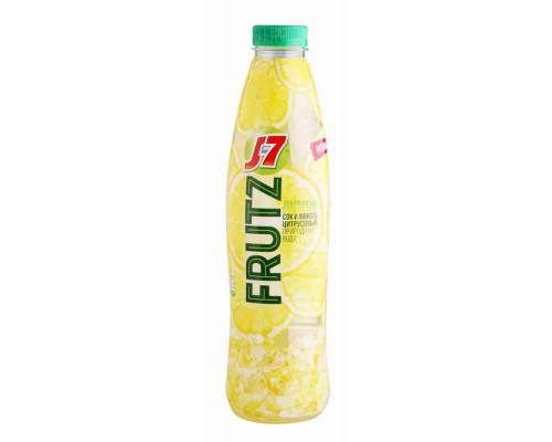 Напиток J7 FRUTZ б/алк с/содерж лимон 1л пэт