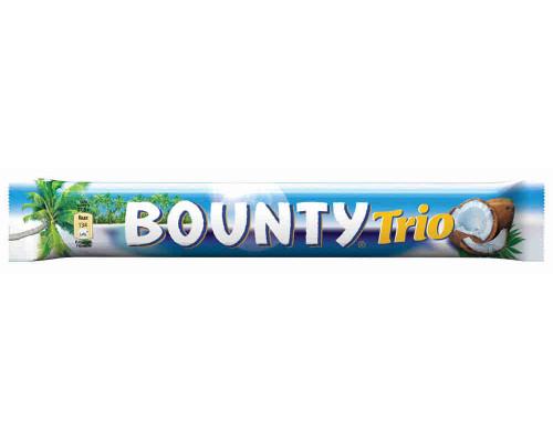 Батончик шоколадный Bounty Trio 82,5г