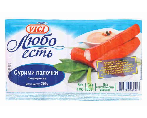 Сурими палочки Vici Любо есть зам 200г