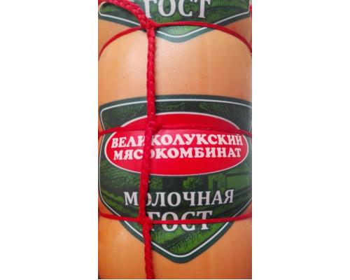 Колбаса Молочная ТМ Великолукский МК, вареная, ГОСТ, 500 г