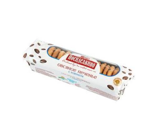 Печенье ТМ Посиделкино, овсяное с изюмом 310 г