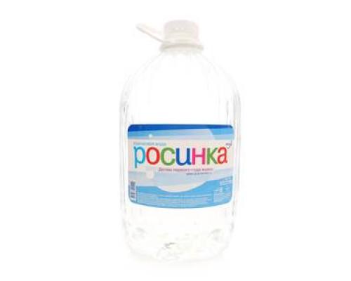 Вода родниковая ТМ Росинка