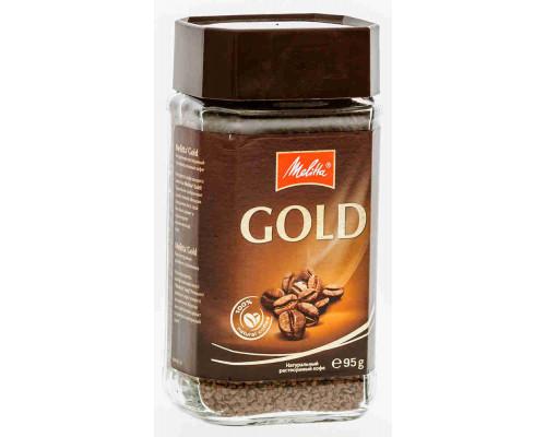 Кофе ТМ Черная карта Gold растворимый 95г