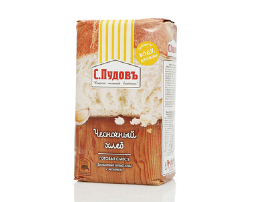 Готовая смесь Чесночный хлеб ТМ С.Пудовъ