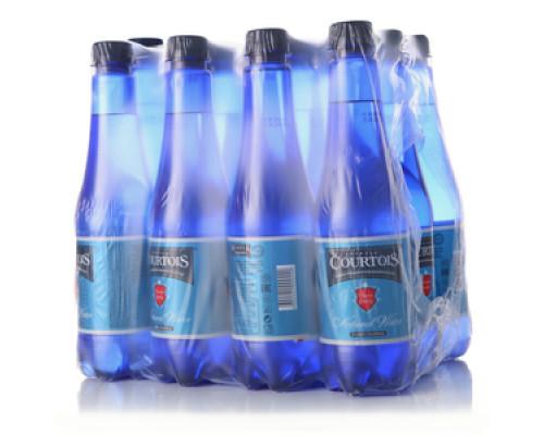 Вода артезианская газированная 12*0,5л ТМ Courtois (Куртуа)