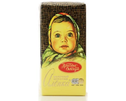 Шоколад ТМ Красный Октябрь, Аленка молочный 100 г