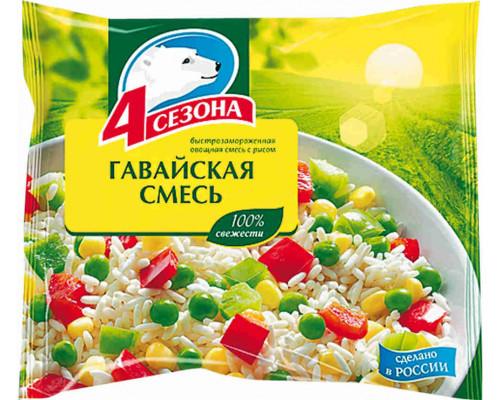 СМЕСЬ ГАВАЙСКАЯ замороженная, 4 Сезона 400 г