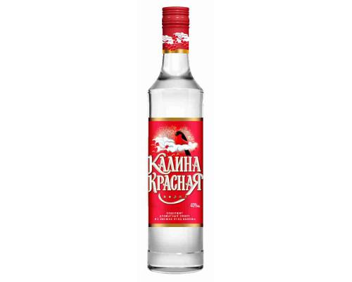 Водка Калина Красная 40% 0,25л
