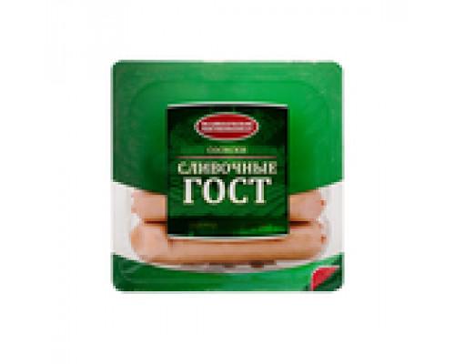 Сосиски Сливочные ТМ Великолукский мясокомбинат 0,33 кг