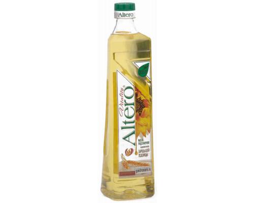 Масло подсолнечное Altero Vitality рафинированное дезодорированное 810мл