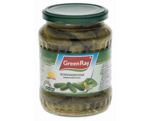 Корнишоны Green Ray маринованные 720мл