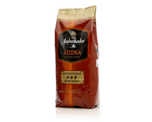 Кофе в зернах темнообжаренный Adora ТМ Ambassador (Амбассадор)