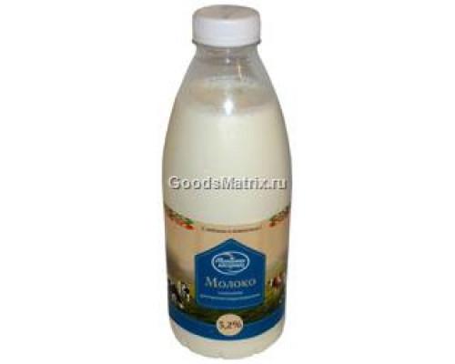 Молоко ТМ Молочный гостинец, 3,2%, 930 мл