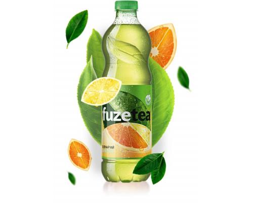 Чай зеленый ТМ Fuzetea (Фузити) Зеленый цитрус, 1,5 л