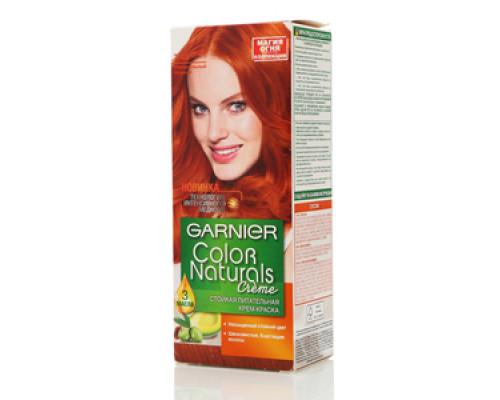 Крем-краска стойкая питательная пелнительный медный Garnier color naturals cream (гарниер колор натуралс крем) ТМ Garnier