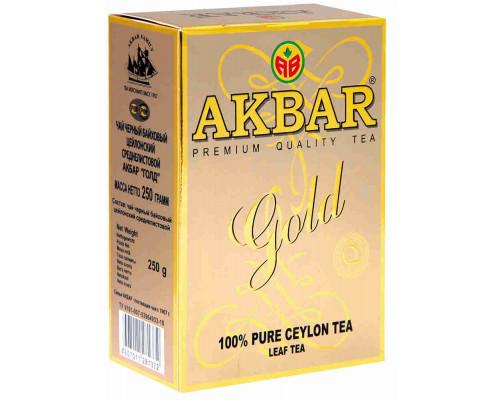 Чай черный ТМ Akbar Gold, листовой 250 г