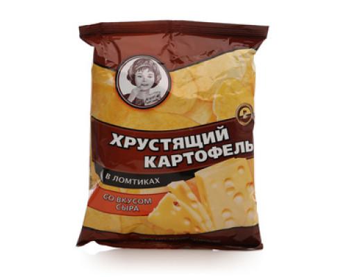 Чипсы со вкусом сыра ТМ Хрустящий картофель