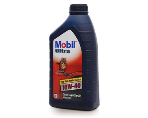 Масло моторное полусинтетическое Ultra 10W-40 (ультра) ТМ Mobil Super (мобил супер)
