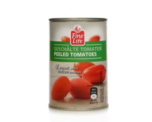 Помидоры целые очищенные в томатном соке ТМ Fine Life (Файн Лайф)