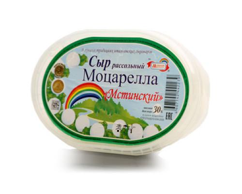 Сыр рассольный Моцарелла Мстинский 30% ТМ Мстинское Молоко