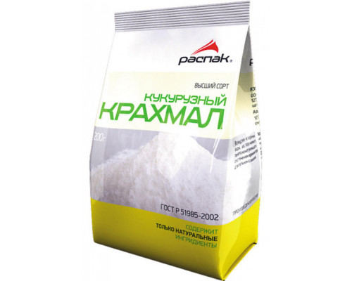 Крахмал кукурузный ТМ Распак, 200 г