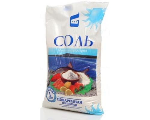 Соль поваренная пищевая мелкая
